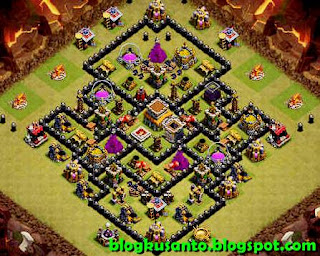 Base COC th 8 Anti Naga dan Gowipe 03