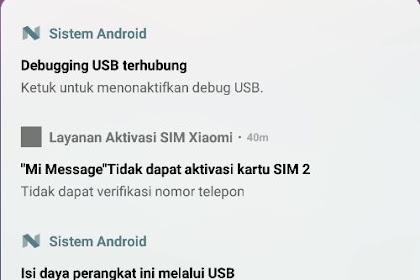 Cara Mengatasi Tidak Dapat Aktivasi Kartu Sim Xiaomi Mi Message