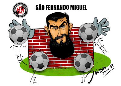caricatura de humor esportivo