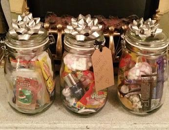 Christmas Treat Mason Jars Naptime Natter