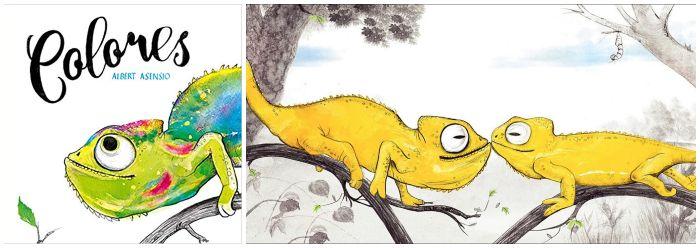 cuentos libros infantiles 0 a 3 años edad regalar navidad Colores Albert Asensio