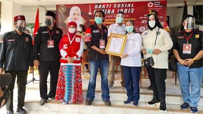 Fahira Idris Targetkan Sumbang 6.600 Kantong melalui Donor Darah Maraton