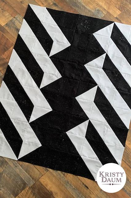 RISE OVER RUN - Kristy Daum Quilt Pattern