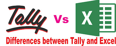 Difference between Tally and MS Excel and which is better Software