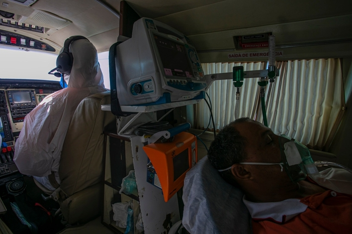 Quem deve ganhar a licitação em Juruti para transporte de pacientes em UTI aérea