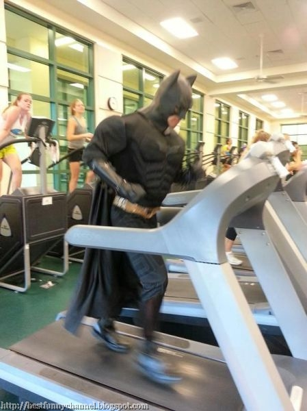 Secret training the Batman .