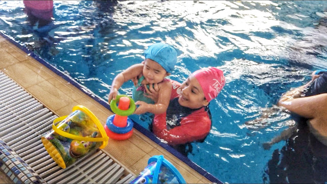 My Baby and Me Program - Bert Lozada Swim School