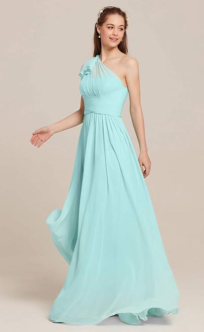 Gorgeous Chiffon Bridesmaid Dresses For Beach Wedding