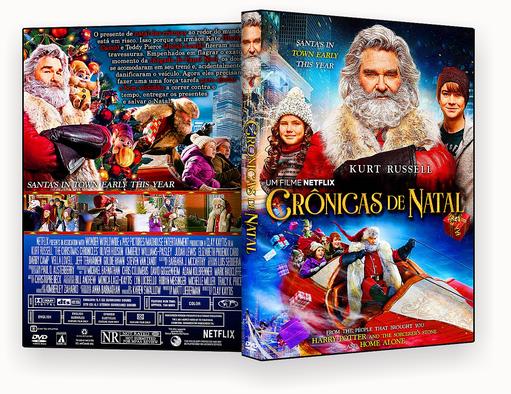CAPA DVD – Cronicas De Natal DVD-R