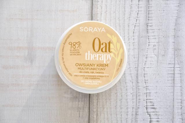 owsiany krem multifunkcyjny soraya oat therapy