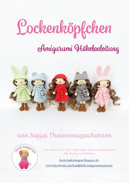 Amigurumi Häkelanleitungen von K and J Dolls