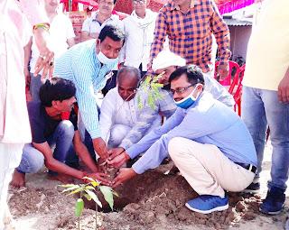 प्रिंटिंग प्रेस एसोसिएशन ने पौधरोपण कर मनाया गया स्थापना दिवस | #NayaSaveraNetwork