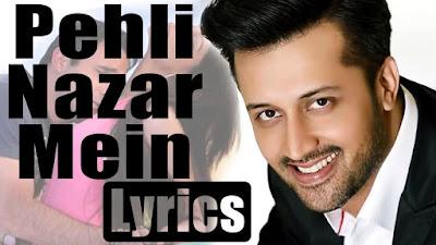 Pehli Nazar Mein Song Lyrics