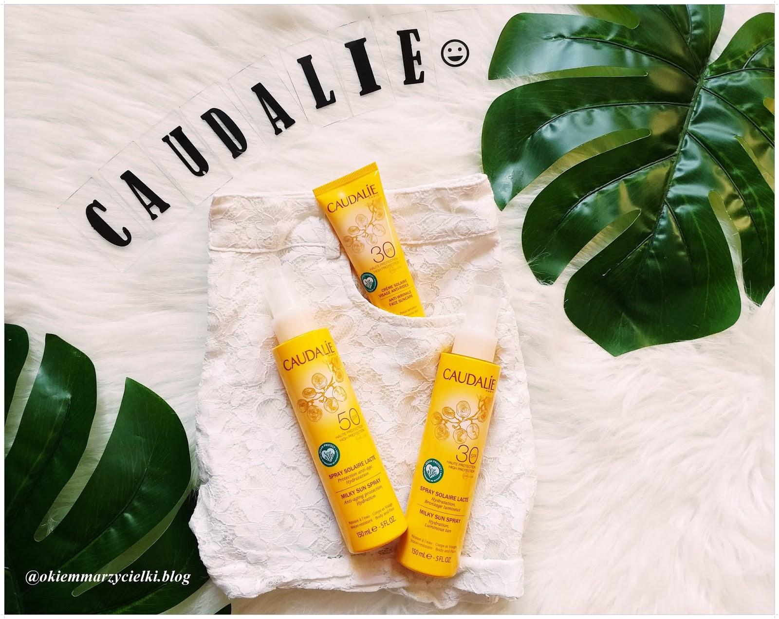 Opalaj się bezpiecznie z marką Caudalie|Spray nawilżający do opalania Milky Sun Spray Spf 30 i 50 & Krem przeciwsłoneczny Spf 30|, recenzja #101