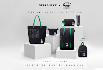New Starbucks® X Herschel Supply Co. collection spotlights recycled and reusable materials