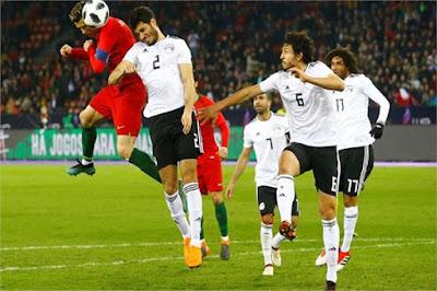 مصر تخسر بثلاثية أمام بلجيكا فى آخر ودية قبل كأس العالم