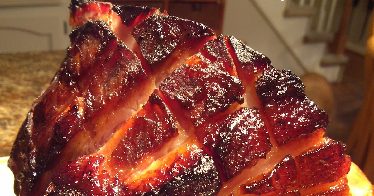 South Your Mouth Coca Cola Glazed Ham With Brown Sugar And Dijon