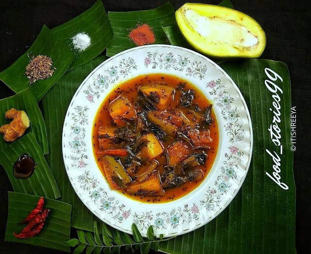 Raw Mango Pickle - Kancha Amba Khata
