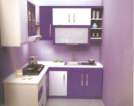 Kitchen Set Minimalis Dindin Design