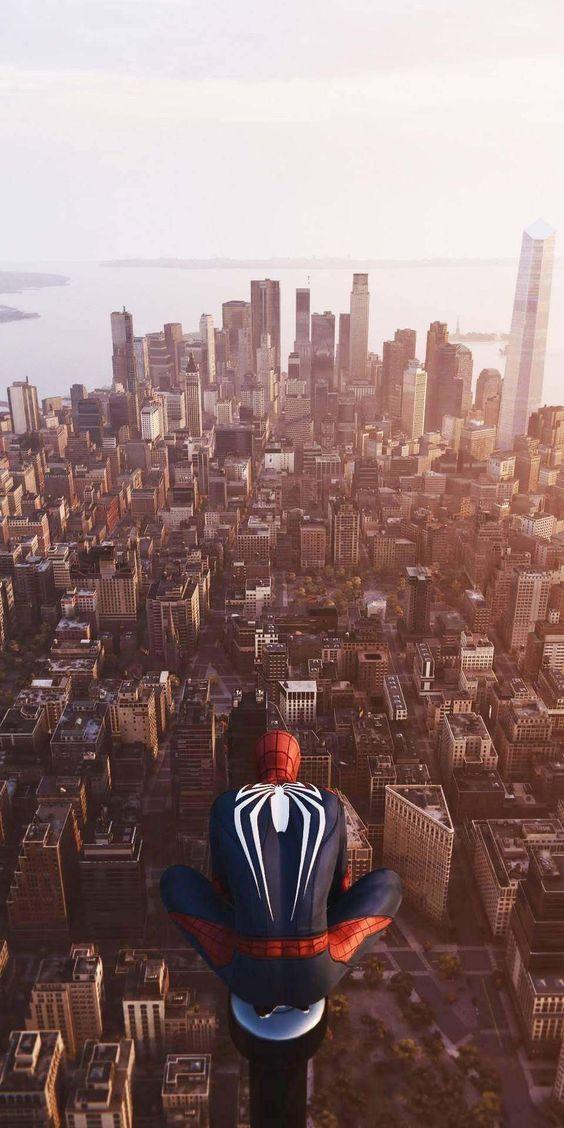 Gambar spiderman snimasi