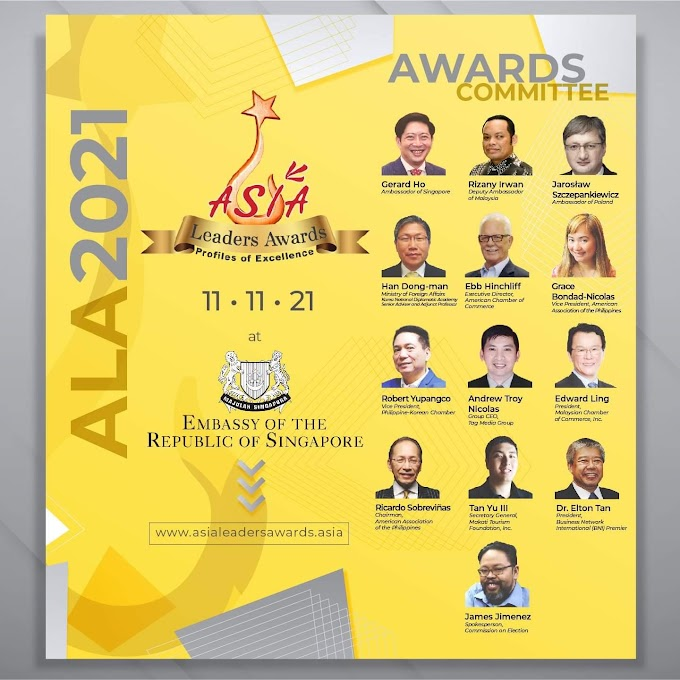 Asia Leaders Awards 2021 Awards Committee