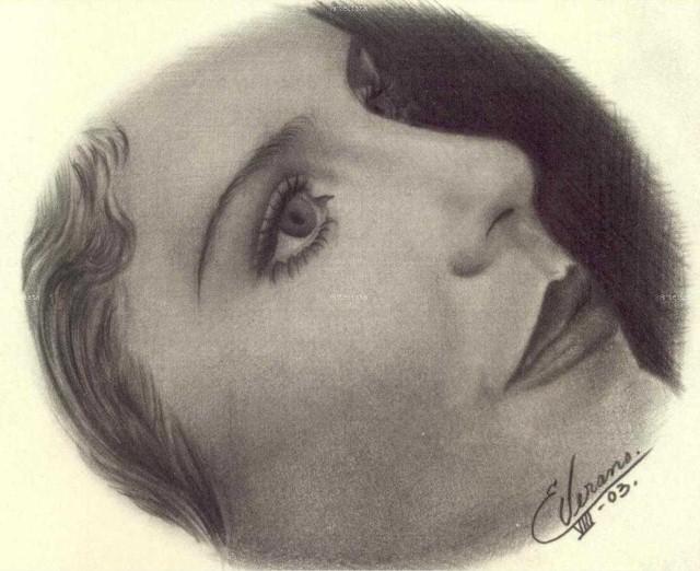Рисунки карандашом. Elia Verano 24