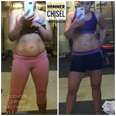 hammer and chisel results, hammer and chisel transformation, hammer and chisel testimonial