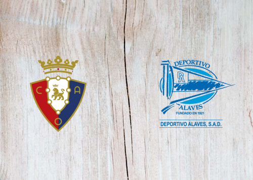 Osasuna vs Deportivo Alavés -Highlights 3 November 2019