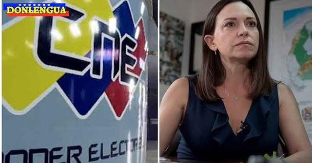 María Corina Machado repudia la designación del nuevo CNE de Capriles