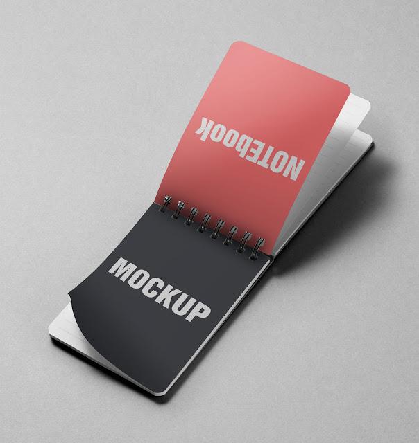 Notes PSD Mockups