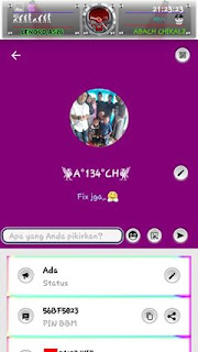 BBM Mod Grape Rainbow V3.1.0.13 Apk