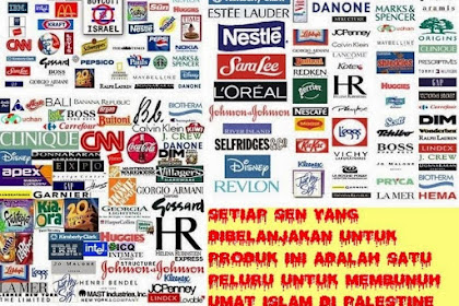 Mengapa Kita Wajib Memboikot Produk-produk Yahudi Israel?