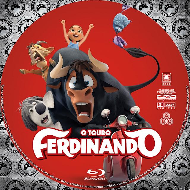 Label Bluray O Touro Ferdinando [Exclusiva]