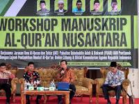 Balitbang Kemenag dan IAIN Pontianak Kerjasama Lestarikan Manuskrip Al-Quran