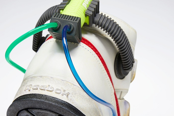 Ghostbusters Reebok Shoes Proton Pack Tubes