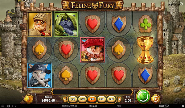 Main Gratis Slot Indonesia - Feline Fury (Play N GO)