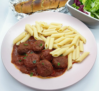 Slow Cooker Low Fat Meatballs slimming world