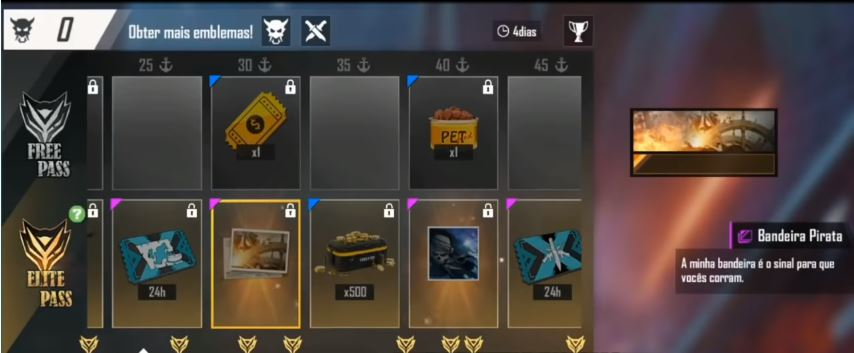 FREE FIRE SEASON 19 ELITE PASS LEAKS AND FULL REVIEW DECEMBER 2019