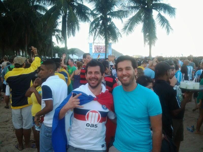 Copacabana - Rio de Janeiro - Copa do Mundo Brasil 2014 - Final - Argentina X Alemanha