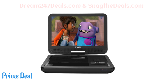 "SYNAGY 12"" Portable DVD Player   40% off"