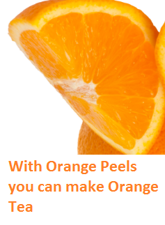 With Orange Peels you can make Orange Tea - Oranges citrus fruit peel (Santre Ke Chilke)