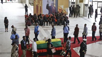 ေမြးရပ္ Ghana မွာ Kofi Annan ရဲ႕ ေနာက္ဆုံး ခရီး