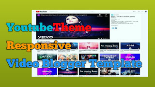Download YoutubeThemes Video Blogger Template
