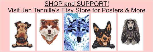 Shop at Jen Tennille's Etsy Store