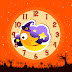 Halloween Funny Moon Clock Screensaver