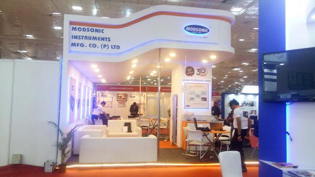 Modsonic Instruments - NDE 2018 at Chennai, India