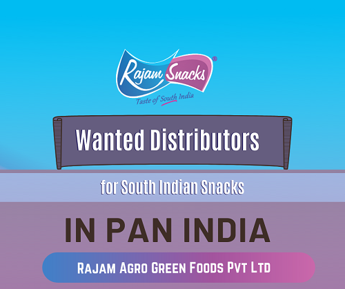 Take Distributorship of Rajam Snacks in India