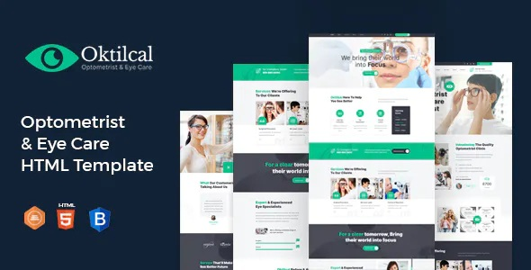Download Optometrist & Eye Care HTML Template
