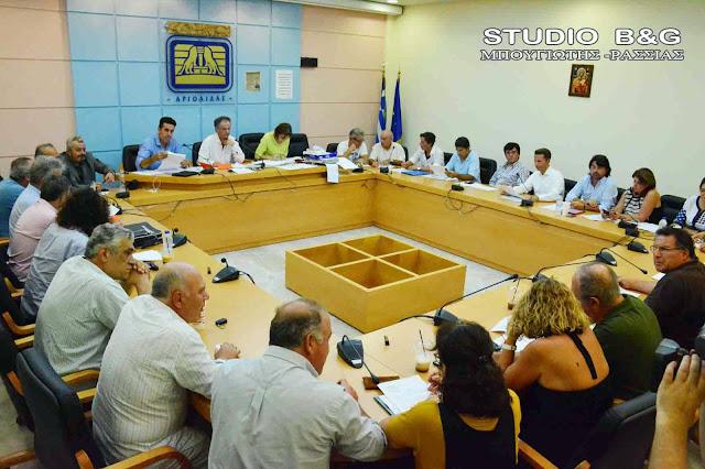 Με 33 θέματα συνεδριάζει το Δημοτικό Συμβούλιο στο Ναύπλιο