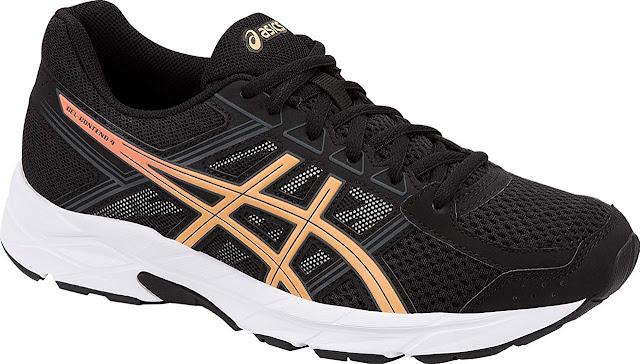 """أفضل حذاء للمشي """"Asics Gel contend 4"""""""